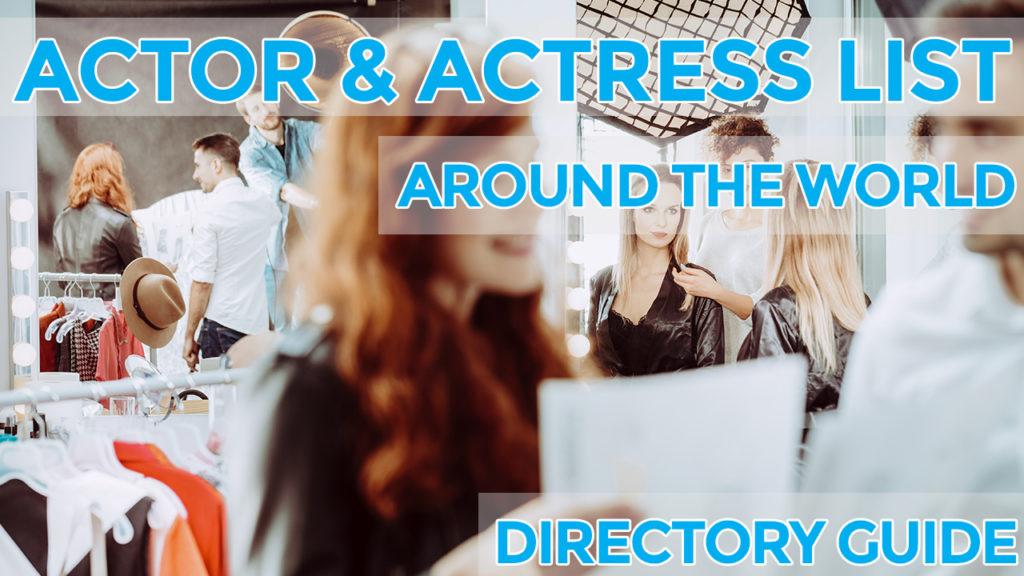 actor actress list