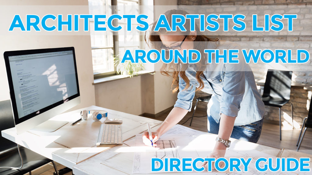 architects artists list