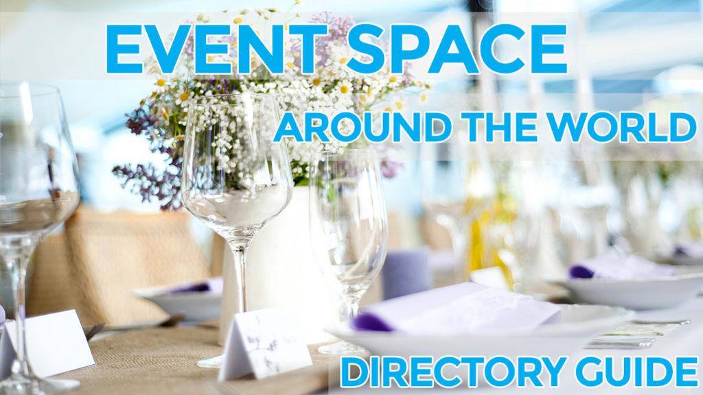 event space around the world