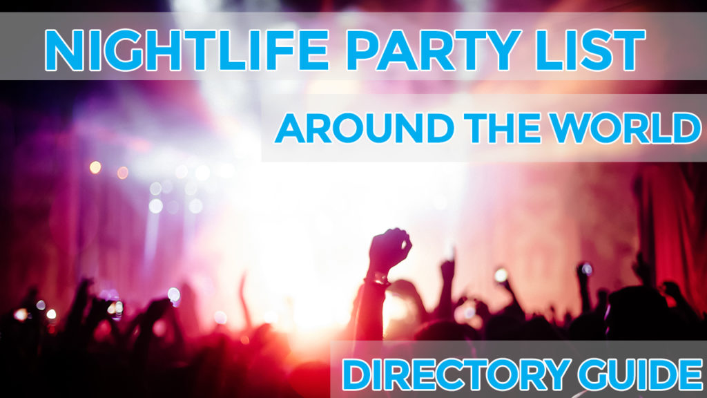 nightlife party list